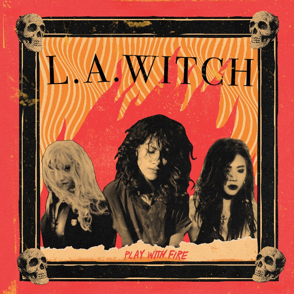 L.A. Witch - Play With Fire (LP, translucent yellow vinyl)