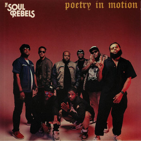 The Soul Rebels - Poetry In Motion (LP, splatter coloured vinyl)