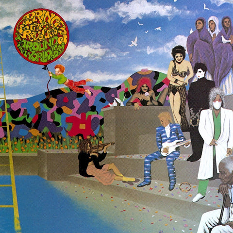 Prince - Around The World In A Day (LP, 2016 reissue)