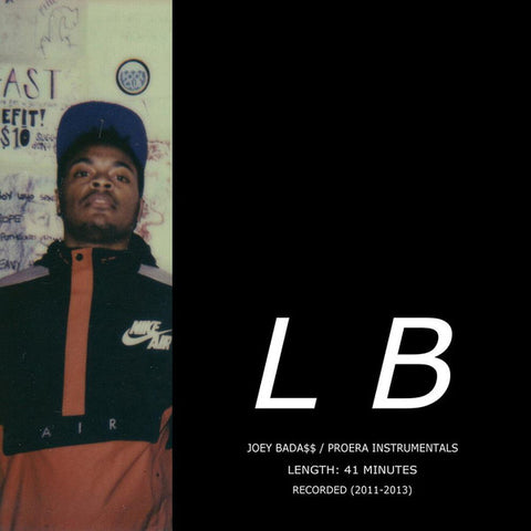 Lee Bannon - Joey Bada$$ Pro Era Instrumentals (LP, clear)