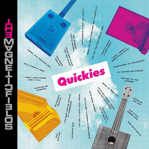 [RSDBF20] The Magnetic Fields - Quickies (LP, clear magenta vinyl)