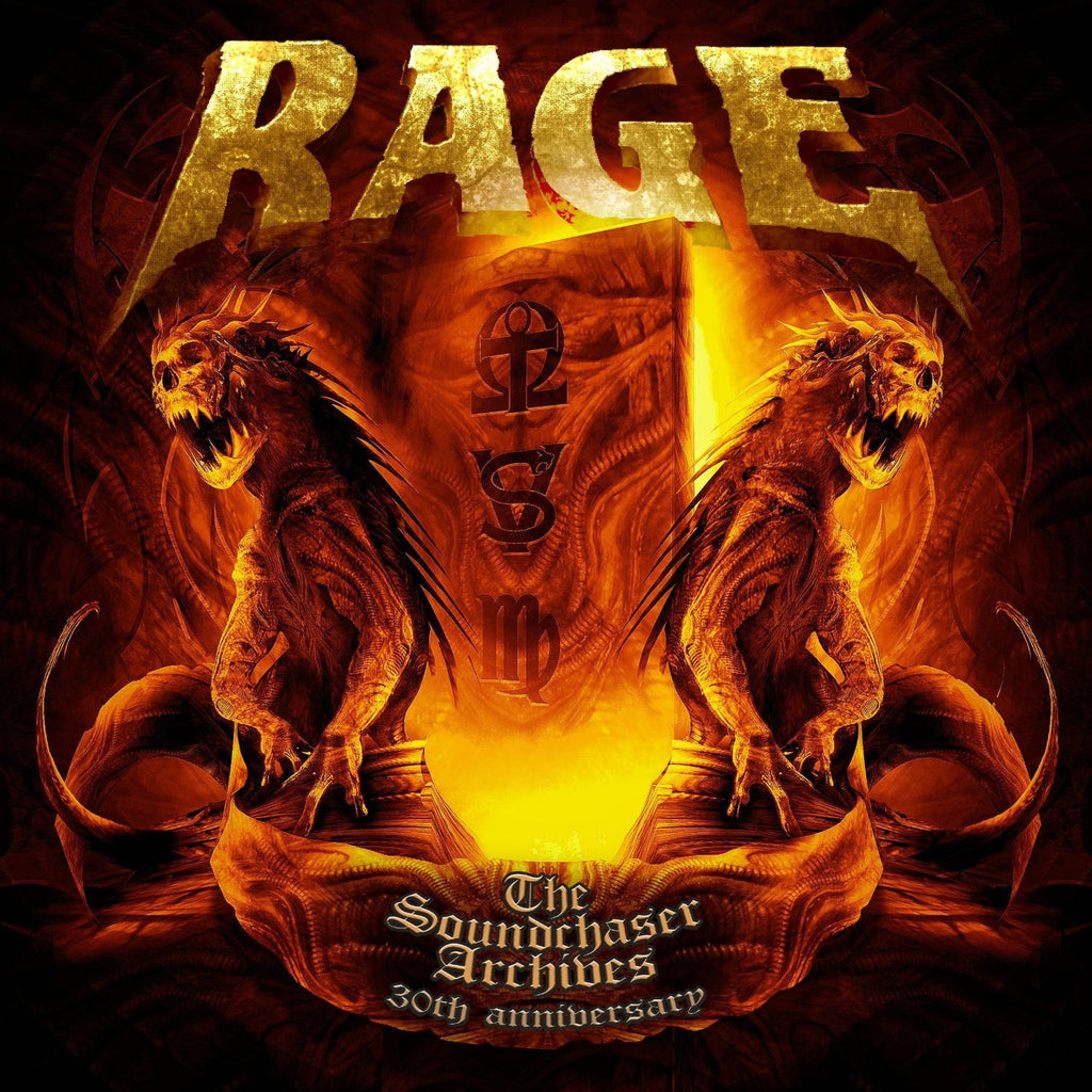 Rage - The Soundchaser Archives 2XCD + DVD