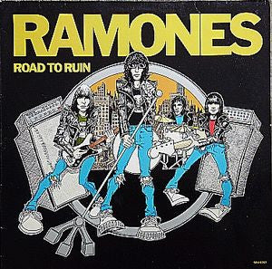 Ramones - Road To Ruin: 40th Anniversary Edition (LP, Ltd. Blue Vinyl)