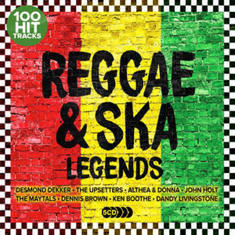Various - Reggae & Ska Legends: The Ultimate Collection (5xCD)