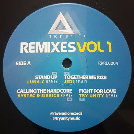 "Try Unity - Remixes Vol 1 (12"")"