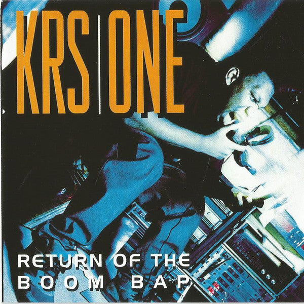 "KRS-One - Return Of The Boom Bap (2xLP+7"", gold vinyl)"
