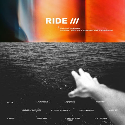 Ride - Clouds in the Mirror: This Is Not a Safe Place Reimagined By Petr Aleksänder (LP, Clear vinyl)