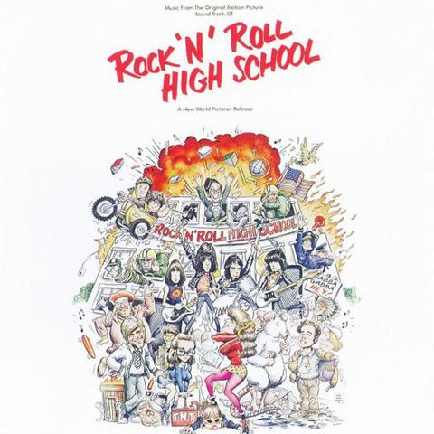 Various - Rock 'N' Roll High School OST (LP, fire-coloured vinyl)