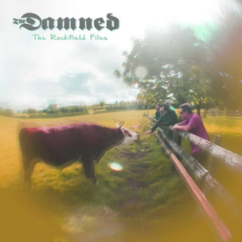 "The Damned - The Rockfield Files (12"", Purple/Brown swirl)"