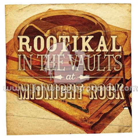 Various - Rootikal In The Vaults At Midnight Rock 2xLP