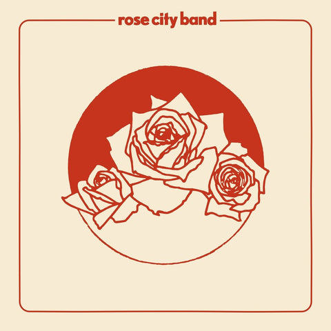 Rose City Band - s/t (LP, red vinyl)