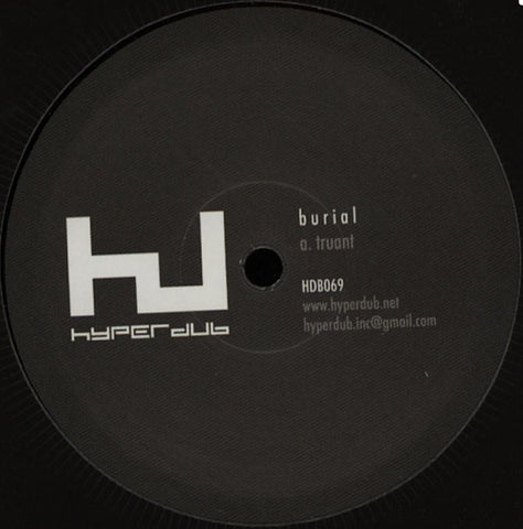 "Burial - Truant / Rough Sleeper (12"")"