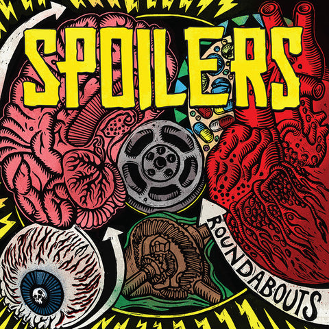 Spoilers - Roundabouts (LP, clear red and yellow splatter vinyl)