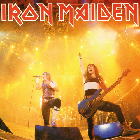 Iron Maiden - Running Free (Live) 7""