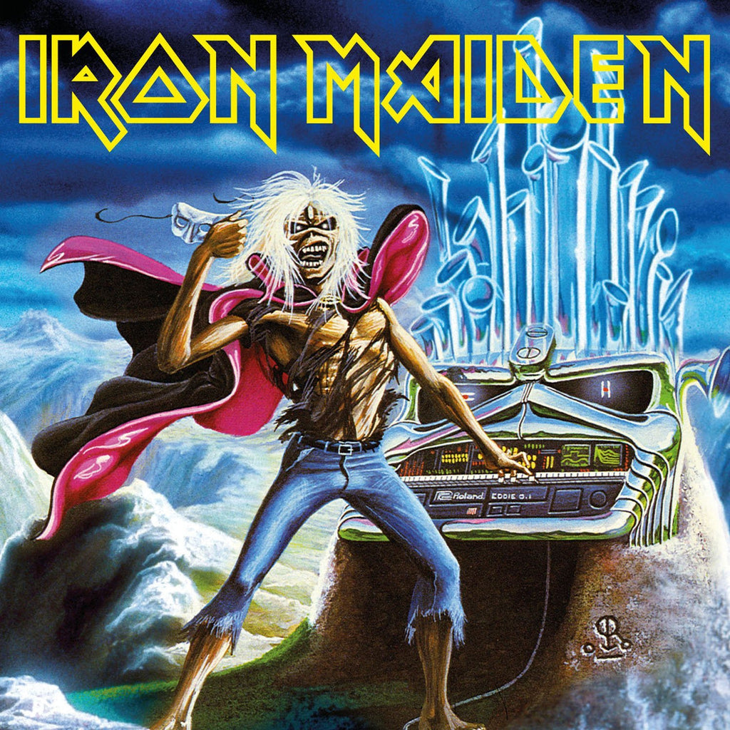 Iron Maiden - Run To The Hills (Live) 7""