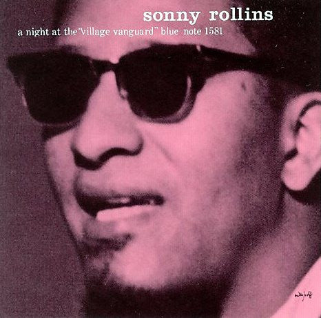 "Sonny Rollins - A Night At The ""Village Vanguard"" LP"