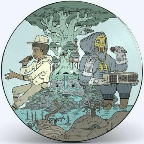 MF DOOM + Bishop Nehru - NehruvianDOOM Redux (LP, Pic Disc)