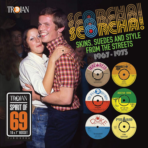 "Various - Scorcha! Skins, Suedes and Style From the Streets 1967-1973 (10x7"" Boxset)"