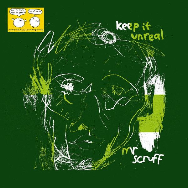 Mr Scruff - Keep It Unreal (2xLP, Green vinyl)