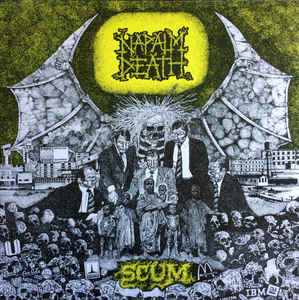 Napalm Death - Scum (LP)