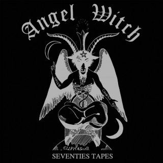 Angel Witch - Seventies Tapes (LP, Silver / Black splatter vinyl)