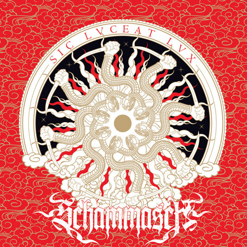 Schammasch - Sic Lvceat Lvx (LP, white with red splatter vinyl)