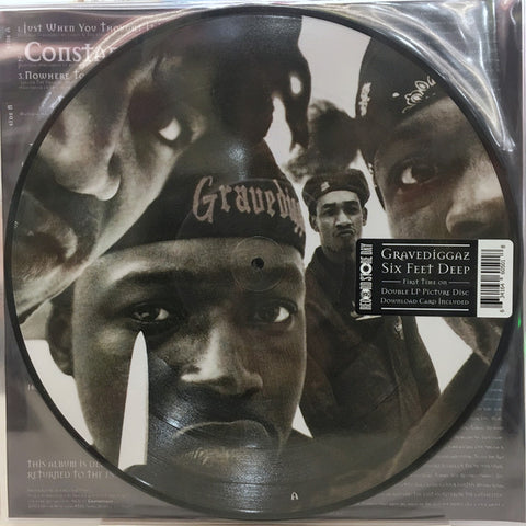 Gravediggaz - 6 Feet Deep (2xLP, picture disc)