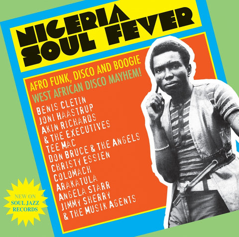 Various - NIGERIA SOUL FEVER - Afro Funk, Disco And Boogie: West African Disco Mayhem! (3xLP)