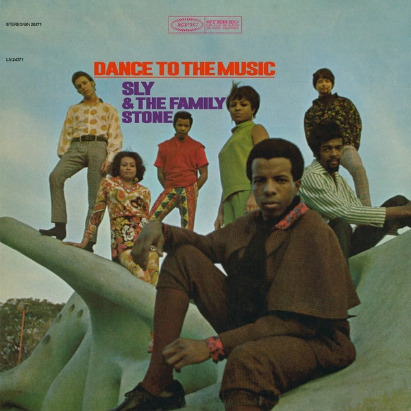 Sly & The Family Stone - Dance To The Music (LP, 180gm)