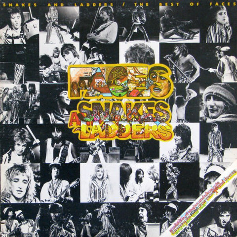 Faces -  Snakes And Ladders: The Best Of Faces (LP)