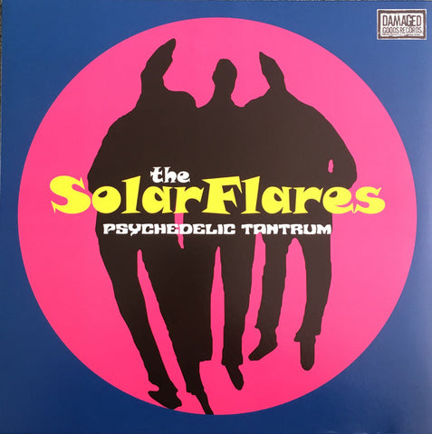 Solarflares, The - Psychedelic Tantrum (Blue Vinyl LP)