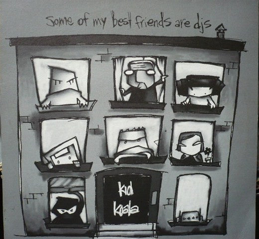 Kid Koala – Some Of My Best Friends Are DJ's (LP)