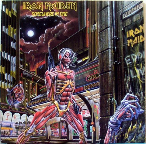 Iron Maiden - Somewhere In Time (CD, inc Eddie figurine and patch)