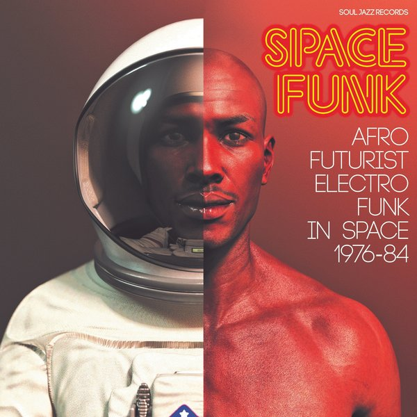 "Various - Space Funk: Afro Futurist Electro Funk In Space 1976-84 (2xLP+7"")"