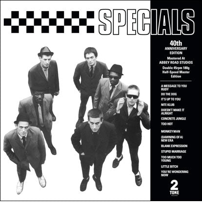 The Specials - s/t (2xLP, 40th anniversary half-speed remaster edition)