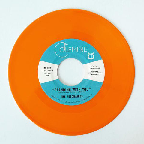 "The Resonaires - Standing With You (7"", orange vinyl)"