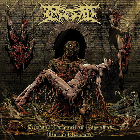 "Ingested - Stinking Cesspool Of Liquefied Human Remains (10"")"