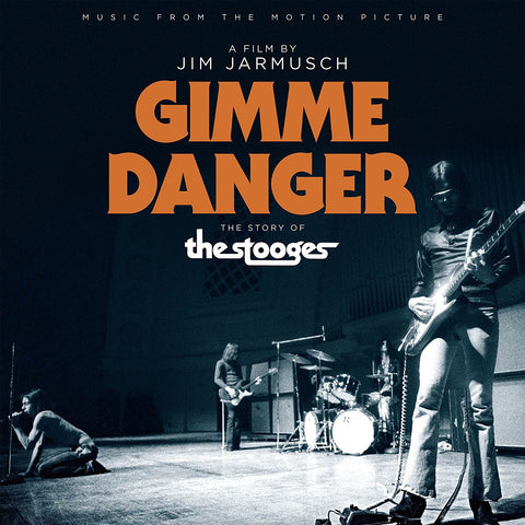 Stooges, The - Music From The Motion Picture 'Gimme Danger' (LP, Poster)