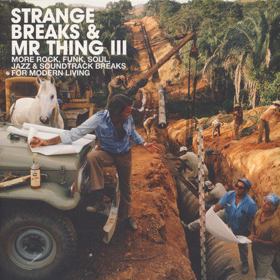 Various Artists - Strange Breaks & Mr thing III (2xLP+CD)