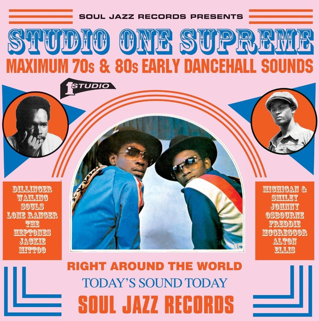 Various - Studio One Supreme: Maximum 70s and 80s Early Dancehall Sounds (3xLP)