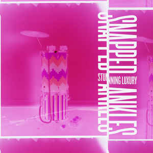 Snapped Ankles - Stunning Luxury (LP+CD, neon pink vinyl)