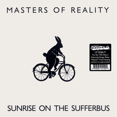 [RSDBF20] Masters Of Reality - Sunrise On The Sufferbus (LP, 'natural' vinyl)