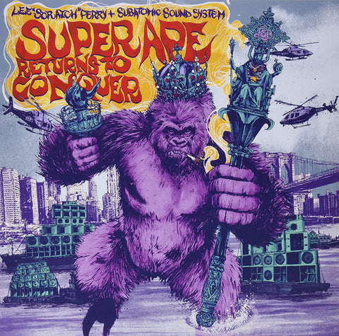 Lee Scratch Perry + Subatomic Sound System - Super Ape Returns To Conquer (LP+CD)