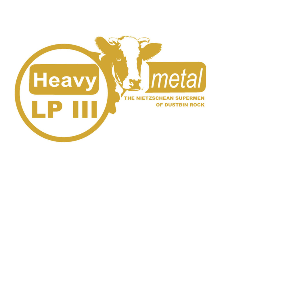 Heavy Metal - The Nietzschean Supermen Of Dustbin Rock (LP, gold vinyl)