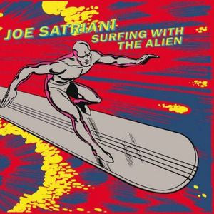 Joe Satriani - Surfing With The Alien (2xLP deluxe edition, red and yellow vinyl)
