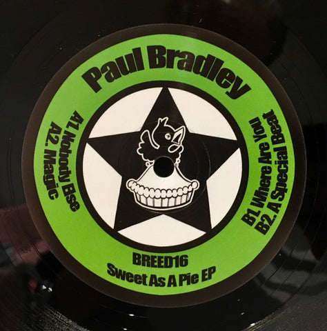 "Paul Bradley - Sweet As Pie EP (12"")"