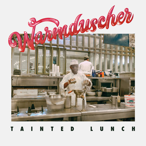Warmduscher - Tainted Lunch (LP, red vinyl inc poster)