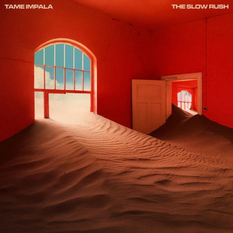 Tame Impala - The Slow Rush (2xLP, Red & Light Blue vinyl)