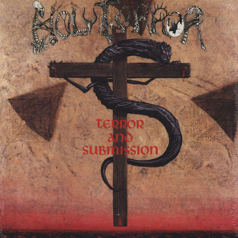 Holy Terror - Terror And Submission (LP, white/red splatter vinyl)