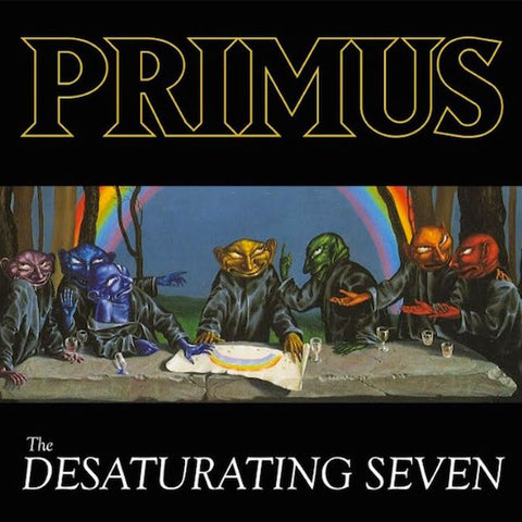 Primus - The Desaturating Seven (LP, rainbow splattered vinyl)